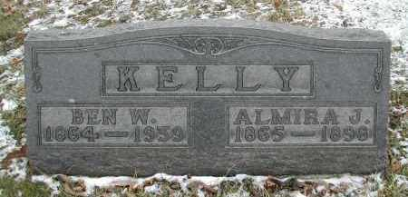 KELLY, ALMIRA - Gallia County, Ohio | ALMIRA KELLY - Ohio Gravestone Photos
