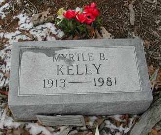 KELLY, MYRTLE - Gallia County, Ohio | MYRTLE KELLY - Ohio Gravestone Photos