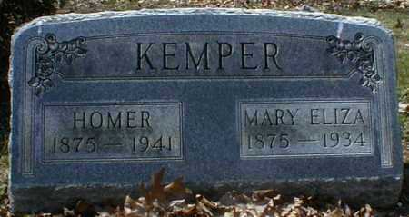 KEMPER, HOMER - Gallia County, Ohio | HOMER KEMPER - Ohio Gravestone Photos