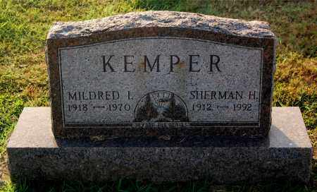 KEMPER, SHERMAN - Gallia County, Ohio | SHERMAN KEMPER - Ohio Gravestone Photos