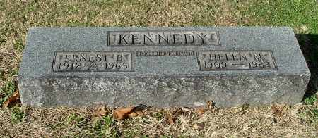 KENNEDY, ERNEST B - Gallia County, Ohio | ERNEST B KENNEDY - Ohio Gravestone Photos