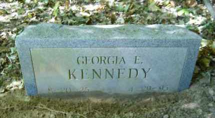 KENNEDY, GEORGIA - Gallia County, Ohio | GEORGIA KENNEDY - Ohio Gravestone Photos