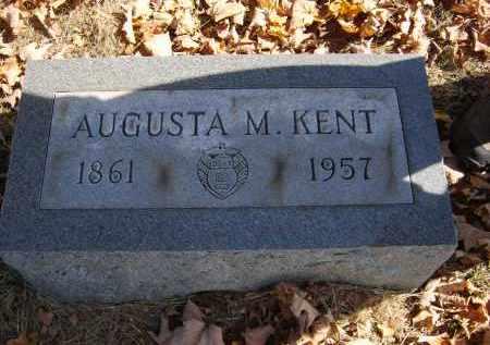 KENT, AUGUSTA - Gallia County, Ohio | AUGUSTA KENT - Ohio Gravestone Photos