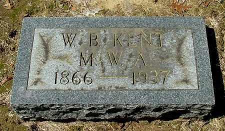 KENT, W. B - Gallia County, Ohio | W. B KENT - Ohio Gravestone Photos