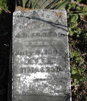 KERR, CHARLES W. - Gallia County, Ohio | CHARLES W. KERR - Ohio Gravestone Photos