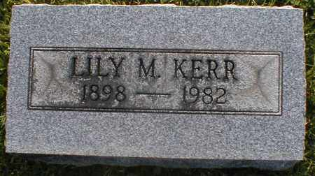 KERR, LILY - Gallia County, Ohio | LILY KERR - Ohio Gravestone Photos