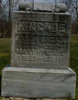 KINCADE, MARY - Gallia County, Ohio | MARY KINCADE - Ohio Gravestone Photos