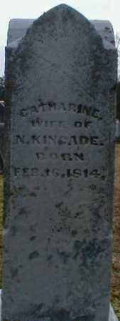 KINCADE, CATHARINE - Gallia County, Ohio | CATHARINE KINCADE - Ohio Gravestone Photos