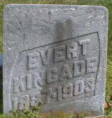 KINCADE, EVERT - Gallia County, Ohio | EVERT KINCADE - Ohio Gravestone Photos