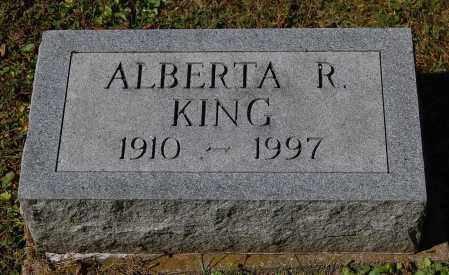KING, ALBERTA R - Gallia County, Ohio | ALBERTA R KING - Ohio Gravestone Photos