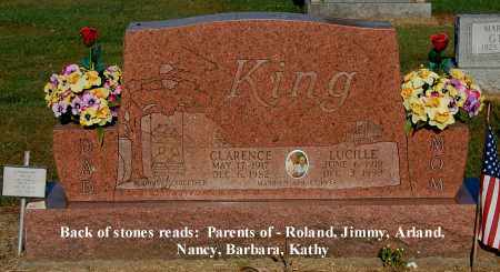 KING, CLARENCE - Gallia County, Ohio | CLARENCE KING - Ohio Gravestone Photos