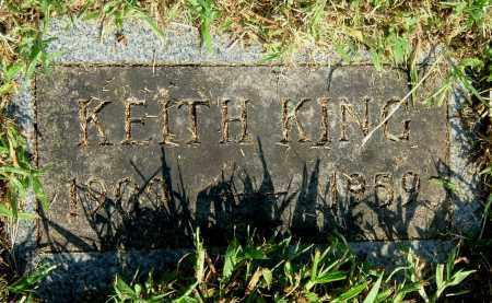 KING, KEITH - Gallia County, Ohio | KEITH KING - Ohio Gravestone Photos