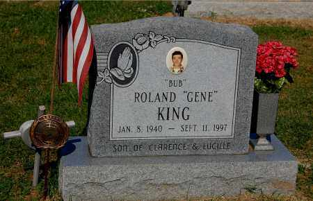 "KING, ROLAND GENE ""BUB"" - Gallia County, Ohio 