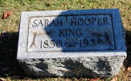 HOOPER KING, SARAH ELIZABETH - Gallia County, Ohio | SARAH ELIZABETH HOOPER KING - Ohio Gravestone Photos