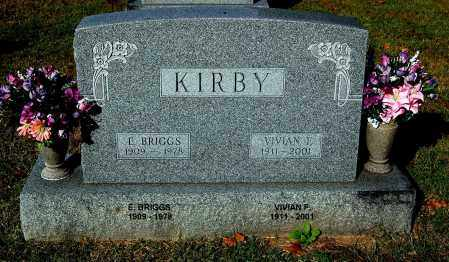 KIRBY, VIVIAN - Gallia County, Ohio | VIVIAN KIRBY - Ohio Gravestone Photos