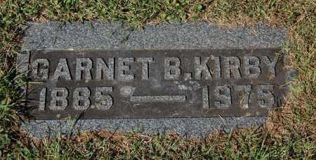 KIRBY, GARNET - Gallia County, Ohio | GARNET KIRBY - Ohio Gravestone Photos