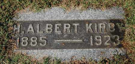 KIRBY, H. ALBERT - Gallia County, Ohio | H. ALBERT KIRBY - Ohio Gravestone Photos