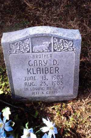 KLAIBER, GARY D. - Gallia County, Ohio | GARY D. KLAIBER - Ohio Gravestone Photos