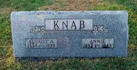 KNAB, ANNIE - Gallia County, Ohio | ANNIE KNAB - Ohio Gravestone Photos