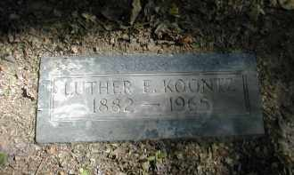 KOONTZ, LUTHER - Gallia County, Ohio | LUTHER KOONTZ - Ohio Gravestone Photos