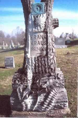 KRAUS, FRANK - Gallia County, Ohio | FRANK KRAUS - Ohio Gravestone Photos