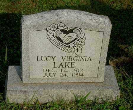 LAKE, LUCY VIRGINIA - Gallia County, Ohio | LUCY VIRGINIA LAKE - Ohio Gravestone Photos