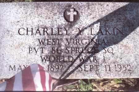LAKIN, CHARLEY Y. - Gallia County, Ohio | CHARLEY Y. LAKIN - Ohio Gravestone Photos