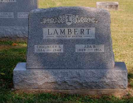 LAMBERT, CHAUNCEY SEDRICK - Gallia County, Ohio | CHAUNCEY SEDRICK LAMBERT - Ohio Gravestone Photos