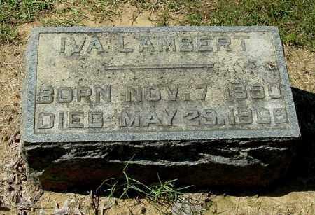 LAMBERT, IVA - Gallia County, Ohio | IVA LAMBERT - Ohio Gravestone Photos