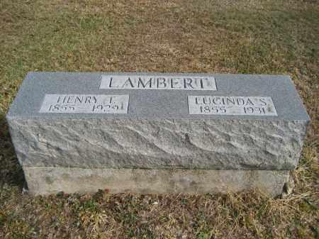 LAMBERT, LUCINDA S. - Gallia County, Ohio | LUCINDA S. LAMBERT - Ohio Gravestone Photos