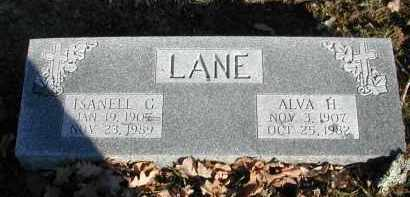 LANE, ISANELL C. - Gallia County, Ohio | ISANELL C. LANE - Ohio Gravestone Photos