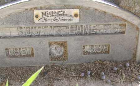 LANE, SUSAN - Gallia County, Ohio   SUSAN LANE - Ohio Gravestone Photos
