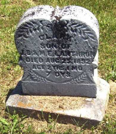 LANTHORN, CLARK - Gallia County, Ohio | CLARK LANTHORN - Ohio Gravestone Photos