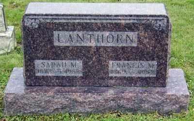LANTHORN, SARAH MIRANDA - Gallia County, Ohio | SARAH MIRANDA LANTHORN - Ohio Gravestone Photos