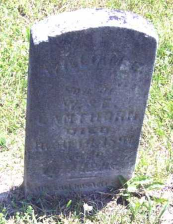 LANTHORN, WILLIAM E. - Gallia County, Ohio | WILLIAM E. LANTHORN - Ohio Gravestone Photos