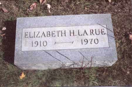 LARUE, ELIZABETH - Gallia County, Ohio | ELIZABETH LARUE - Ohio Gravestone Photos
