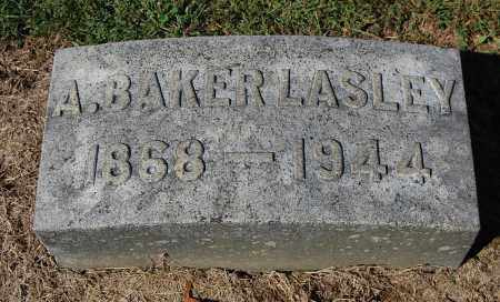 LASLEY, AMOS BAKER - Gallia County, Ohio | AMOS BAKER LASLEY - Ohio Gravestone Photos