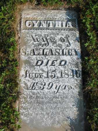 LASLEY, CYNTHIA - Gallia County, Ohio | CYNTHIA LASLEY - Ohio Gravestone Photos