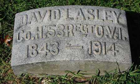 LASLEY, DAVID - Gallia County, Ohio | DAVID LASLEY - Ohio Gravestone Photos