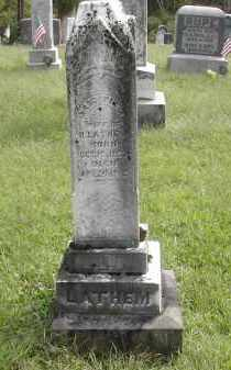 LATHEM, MARGARET - Gallia County, Ohio | MARGARET LATHEM - Ohio Gravestone Photos