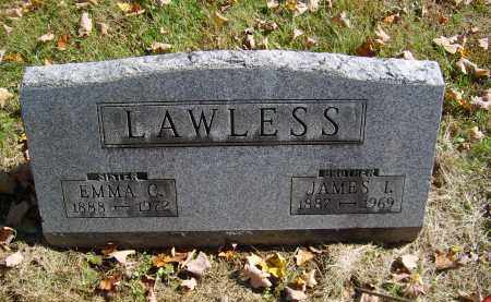 LAWLESS, JAMES - Gallia County, Ohio | JAMES LAWLESS - Ohio Gravestone Photos