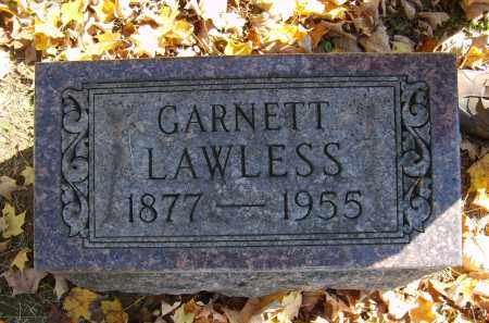 LAWLESS, GARNETT - Gallia County, Ohio | GARNETT LAWLESS - Ohio Gravestone Photos
