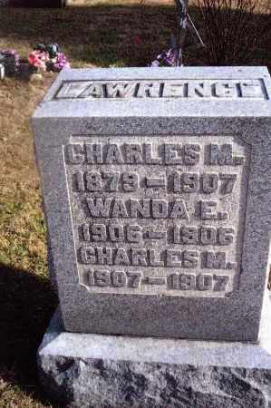 LAWRENCE, CHARLES M. - Gallia County, Ohio | CHARLES M. LAWRENCE - Ohio Gravestone Photos