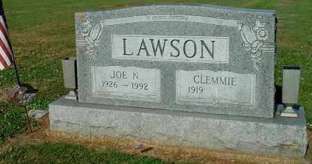 LAWSON, CLEMMIE - Gallia County, Ohio | CLEMMIE LAWSON - Ohio Gravestone Photos