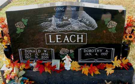 LEACH, DONALD - Gallia County, Ohio | DONALD LEACH - Ohio Gravestone Photos