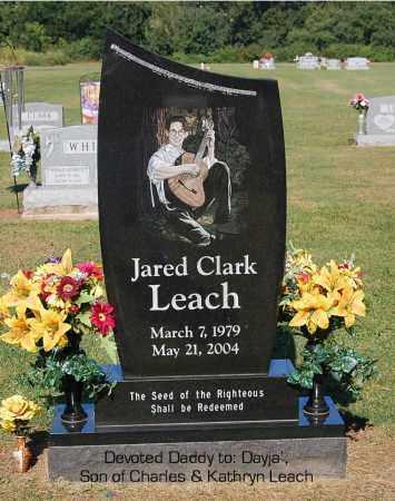 LEACH, JARED CLARK - Gallia County, Ohio | JARED CLARK LEACH - Ohio Gravestone Photos