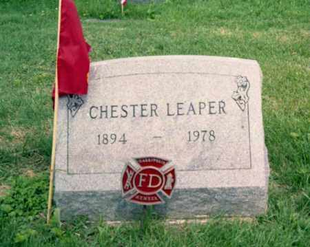 LEAPER, CHESTER - Gallia County, Ohio | CHESTER LEAPER - Ohio Gravestone Photos