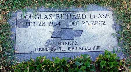 LEASE, DOUGLAS RICHARD - Gallia County, Ohio | DOUGLAS RICHARD LEASE - Ohio Gravestone Photos