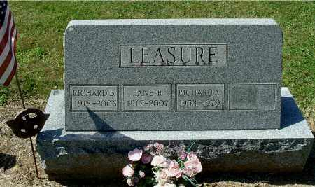 LEASURE, RICHARD B - Gallia County, Ohio | RICHARD B LEASURE - Ohio Gravestone Photos