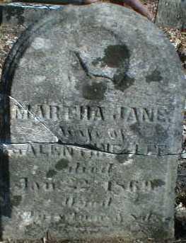 LEE, MARTHA - Gallia County, Ohio | MARTHA LEE - Ohio Gravestone Photos